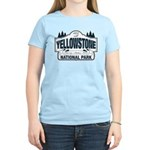 Yellowstone NP Blue Women's Light T-Shirt