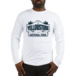 Yellowstone NP Blue Long Sleeve T-Shirt