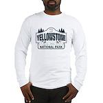 Yellowstone NP Blue Long Sleeve T-Shirt