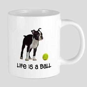 Boston Terrier Life 20 oz Ceramic Mega Mug