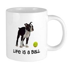 Boston Terrier Life 20 oz Ceramic Mega Mug