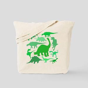 FUN! LOTS of DINOSAURS! Tote Bag