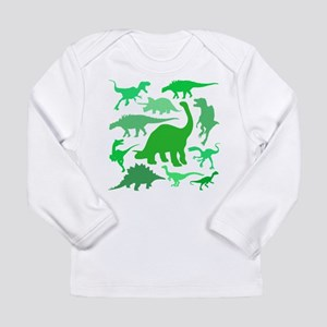 FUN! LOTS of DINOSAURS! Long Sleeve Infant T-Shirt