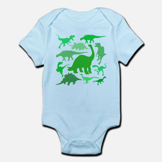 FUN! LOTS of DINOSAURS! Infant Bodysuit