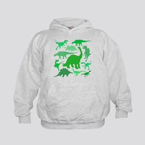 FUN! LOTS of DINOSAURS! Kids Hoodie