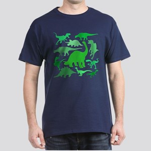FUN! LOTS of DINOSAURS! Dark T-Shirt