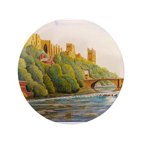 "Durham Cathedral 3.5"" Button"