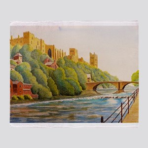 Durham Cathedral Throw Blanket
