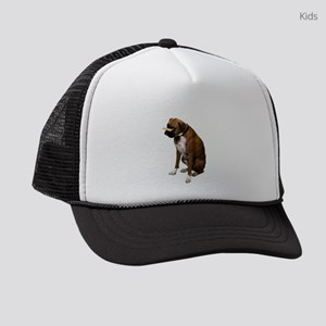 boxer-bone-photo.pn... Kids Trucker hat
