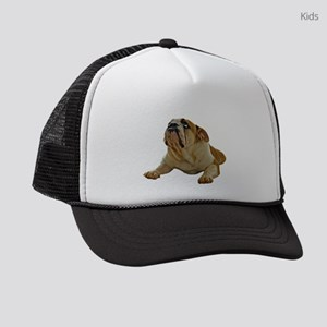 Bulldog Photo Kids Trucker hat