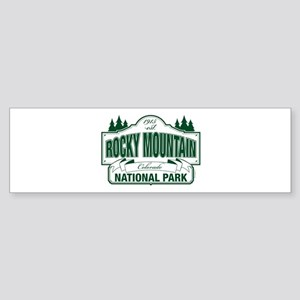 Rocky Mountain National Park Sticker (Bumper)
