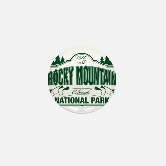 Rocky Mountain National Park Mini Button