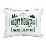 Rocky Mountain National Park Rectangular Canvas Pi