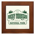 Rocky Mountain National Park Framed Tile