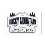 Rocky Mountain National Park Car Magnet 20 x 12