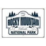 Rocky Mountain National Park Banner