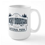 Rocky Mountain National Park Large Mug