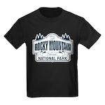 Rocky Mountain National Park Kids Dark T-Shirt