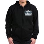 Rocky Mountain National Park Zip Hoodie (dark)