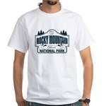 Rocky Mountain National Park White T-Shirt