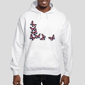 Butterflies Hooded Sweatshirt