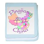 Pingjiang China baby blanket