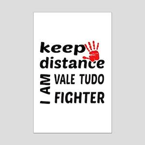 Keep distance I am Vale tudo fig Mini Poster Print