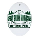 Great Smoky Mountains National Park Ornament (Oval