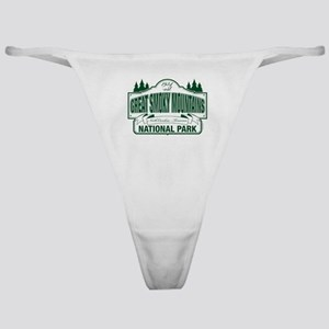 Great Smoky Mountains National Park Classic Thong