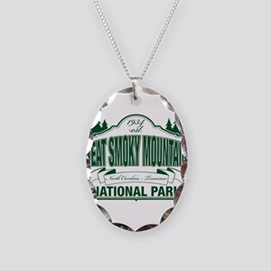 Great Smoky Mountains National Park Necklace Oval
