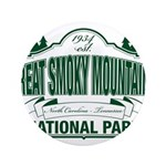 """Great Smoky Mountains National Park 3.5"""" Button"""