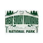 Great Smoky Mountains National Park Rectangle Magn