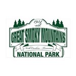 Great Smoky Mountains National Park 35x21 Wall Dec