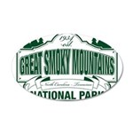 Great Smoky Mountains National Park 20x12 Oval Wal