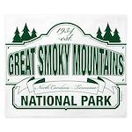 Great Smoky Mountains National Park King Duvet