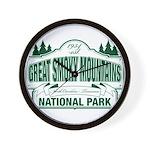 Great Smoky Mountains National Park Wall Clock