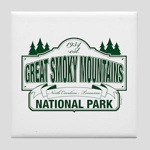 Great Smoky Mountains National Park Tile Coaster