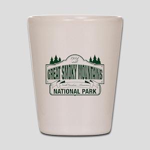 Great Smoky Mountains National Park Shot Glass