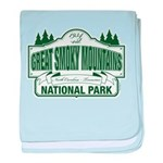 Great Smoky Mountains National Park baby blanket