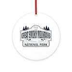 Great Smoky Mountains National Park Ornament (Roun