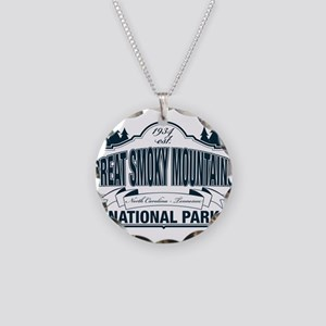 Great Smoky Mountains National Park Necklace Circl
