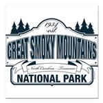 Great Smoky Mountains National Park Square Car Mag