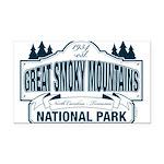 Great Smoky Mountains National Park Rectangle Car