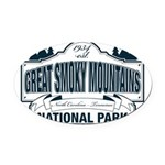 Great Smoky Mountains National Park Oval Car Magne