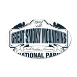 Great Smoky Mountains National Park 35x21 Oval Wal