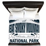 Great Smoky Mountains National Park King Duvet