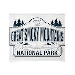 Great Smoky Mountains National Park Stadium Blank