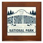 Great Smoky Mountains National Park Framed Tile