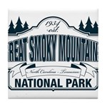 Great Smoky Mountains National Park Tile Coaster