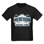Great Smoky Mountains National Park Kids Dark T-Sh